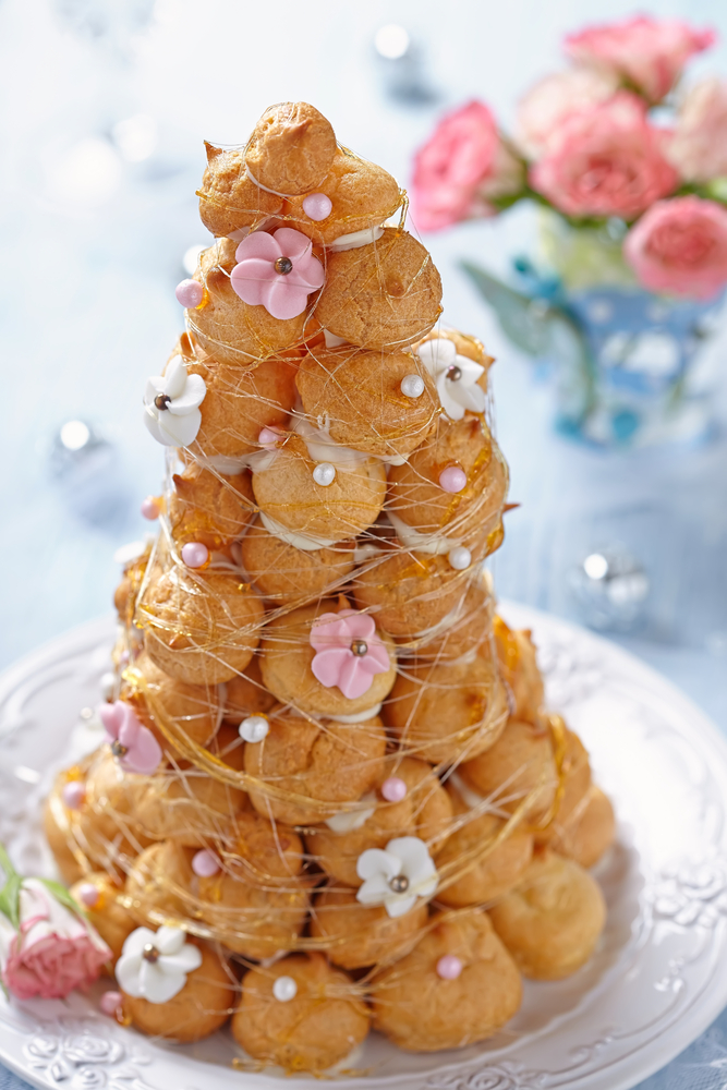 "FRENCH DESSERTS: Some Couples Have Sought Out Foreign Desserts, Such As French Macaroons And ""croquembouche"" — A Conical-shaped French Dessert Consisting Of Cream-puff Pastry And Crystallized Fruit, Held Together By A Caramel Sauce."
